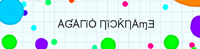 russian nick converter on Agario