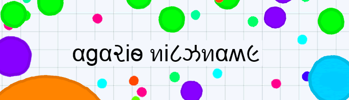 text nick generator copy and paste on Agario